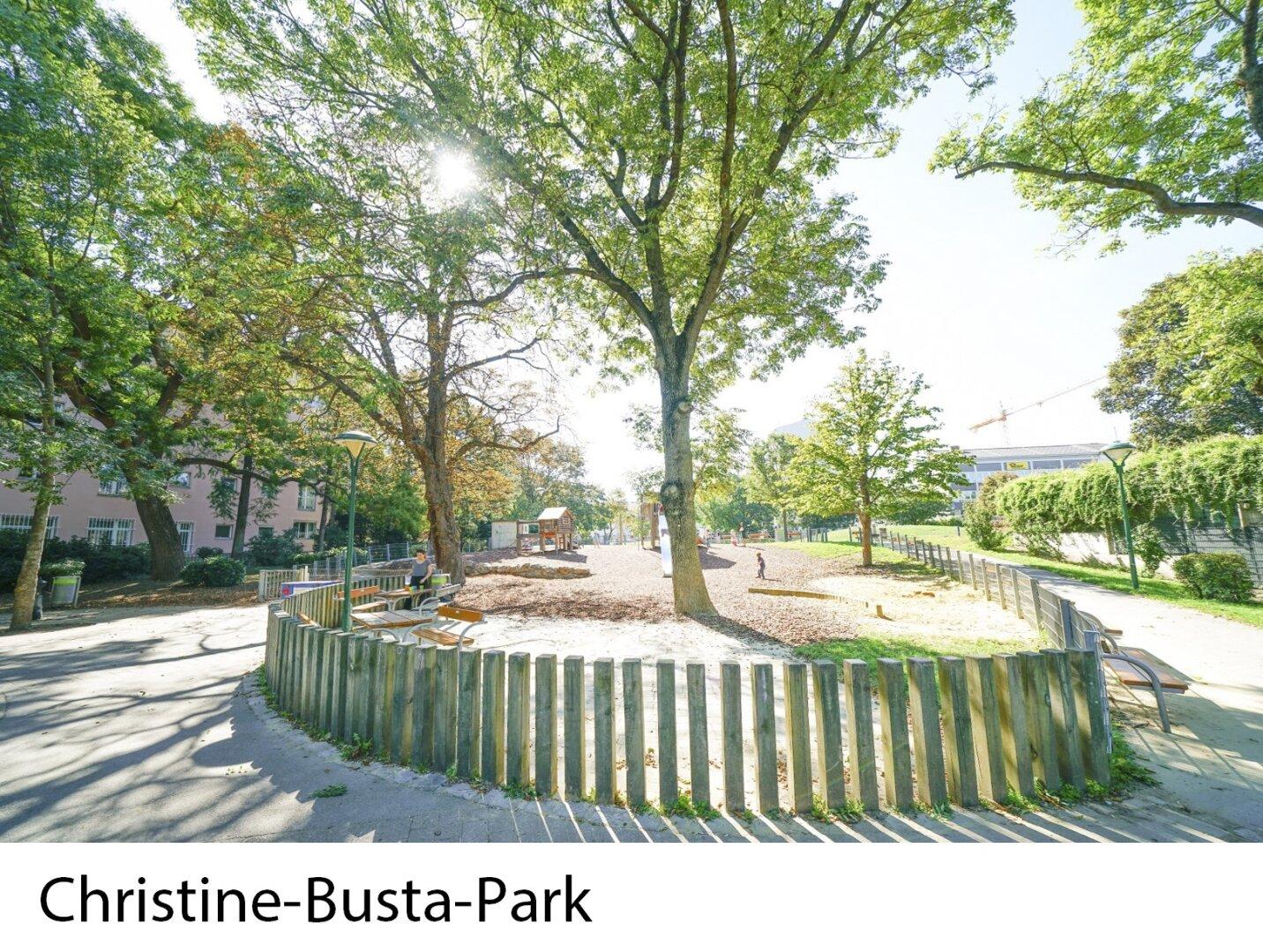 Nahe Christine-Busta-Park