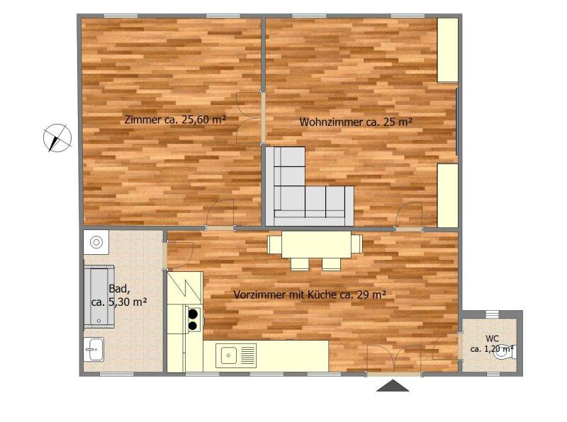 Hübsche 2.5 Zimmer Wohnung im Herzen Wiens /  / 1030Wien / Bild 2