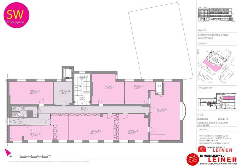 Modernes Büro im Zentrum von Schwechat - Hier werden Sie gesehen! Objekt_10369 Bild_222