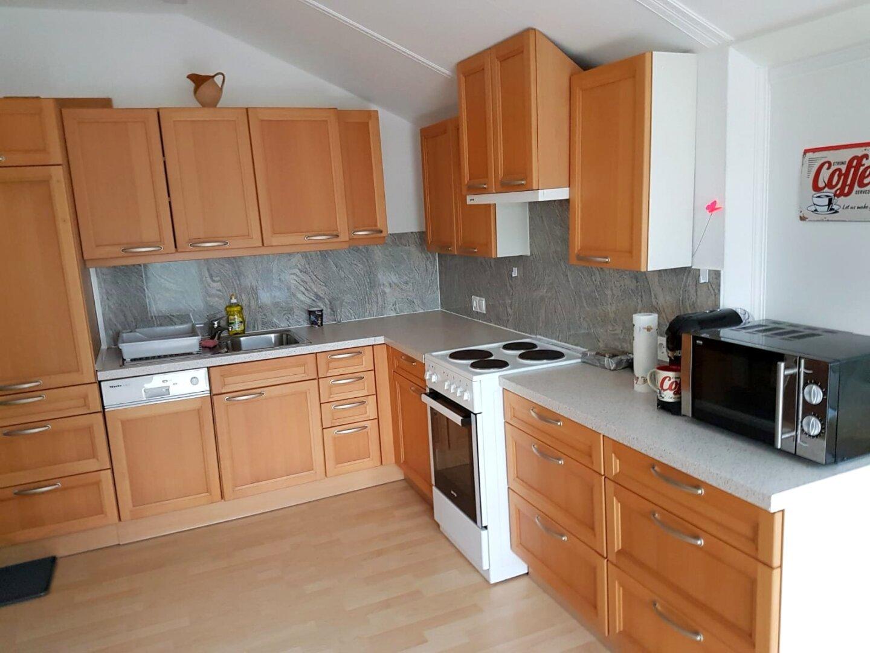 Küchenbereich Mansarde