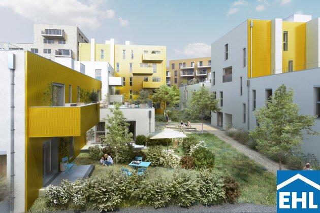 Investieren Sie in Wiens 1. Wohnquartier in einem Wildgarten