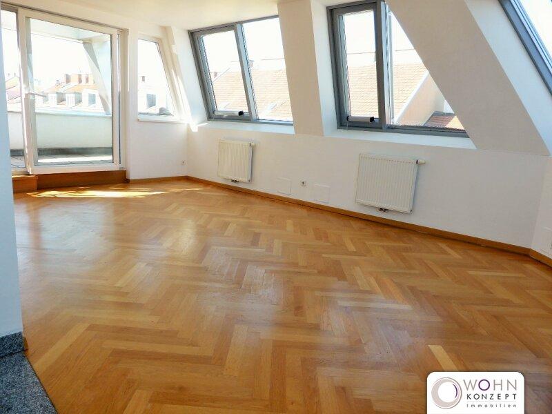 Unbefristeter 120m² Dachausbau mit 2 Terrassen - 1020 Wien