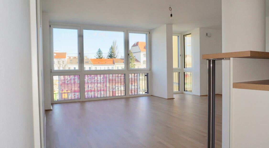 ERSTBEZUG: Großzügige 2 Zimmer Wohnung mit hochwertiger Einbauküche