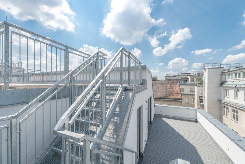++NEU++ Hochwertiger 3-Zimmer DG-Erstbezug, tolle Aufteilung! riesige Dachterrasse, toller Ausblick!! ***Videobesichtigung*** /  / 1200Wien / Bild 4