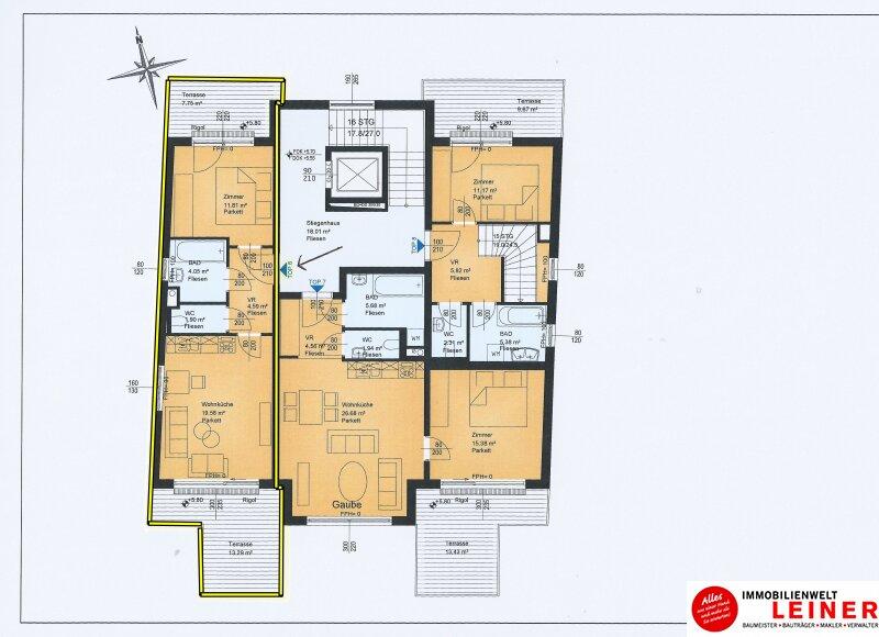 2 Zimmer Wohnung + Eigengarten + Balkon -  Oberlaa, Wohnerlebnis der Extraklasse – Schlüsselfertig – Provisionsfrei! Objekt_8783 Bild_336