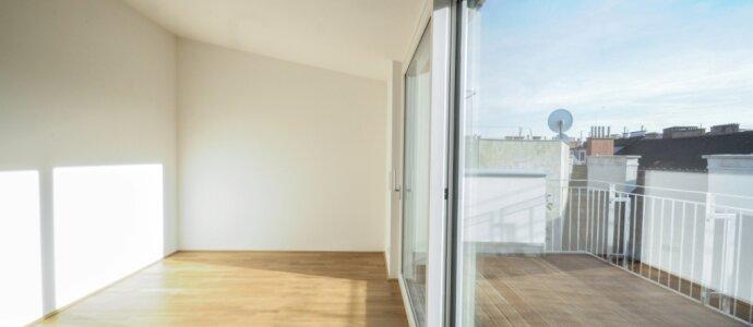 Top - Dachterrassenwohnung auf einer Ebene - perfekte Raumanordnung!
