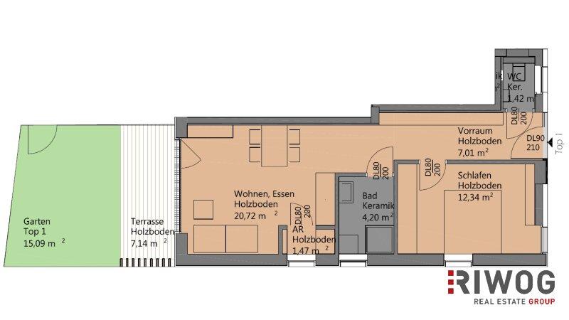 7 Wohnungen im Herzen von Krumpendorf /  / 9201Krumpendorf am Wörthersee / Bild 3