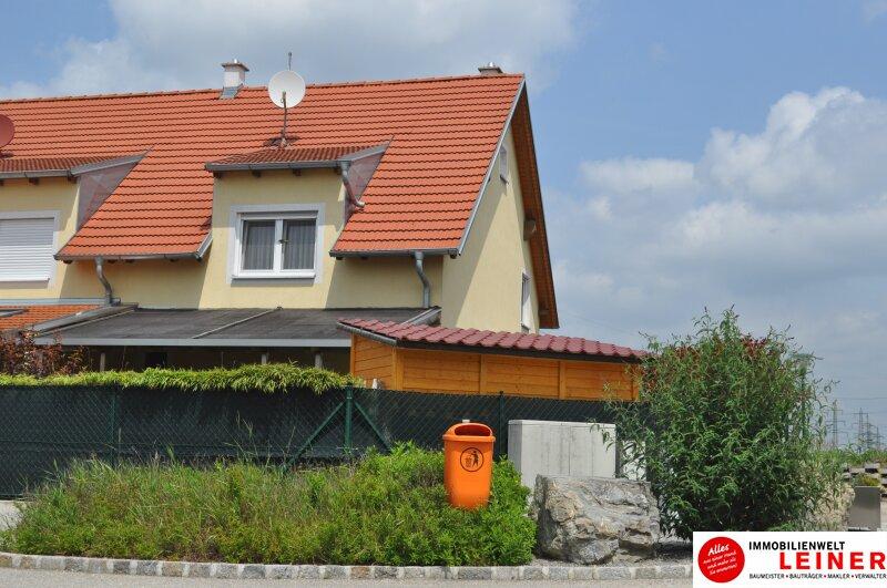 TOP gepflegte Doppelhaushälfte mit neu angelegtem Garten – Nähe Korneuburger Stadtgrenze Objekt_8891 Bild_785