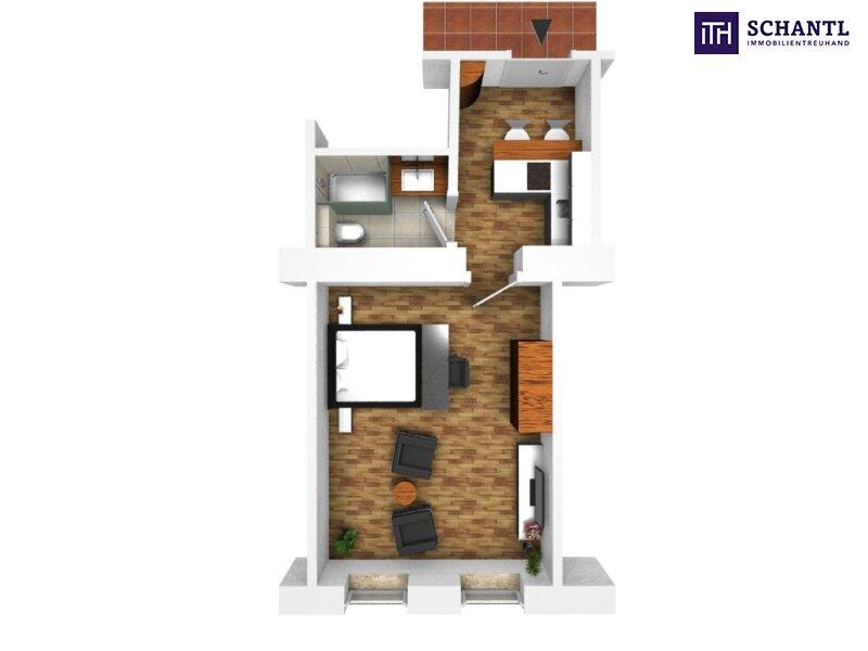 KURZZEITVERMIETUNG!!! Fünf voll möblierte Wohnungen im Paket + Sanierter Altbau + Absolute top Lage! /  / 1140Wien / Bild 13