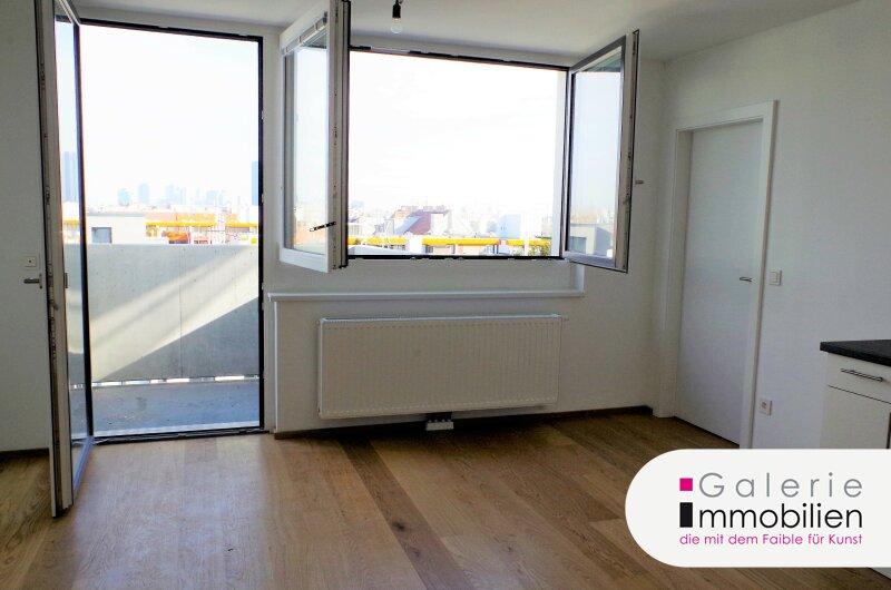 Traumhafter Fernblick - 2-Zimmer-Neubauwohnung mit Balkon Objekt_29481