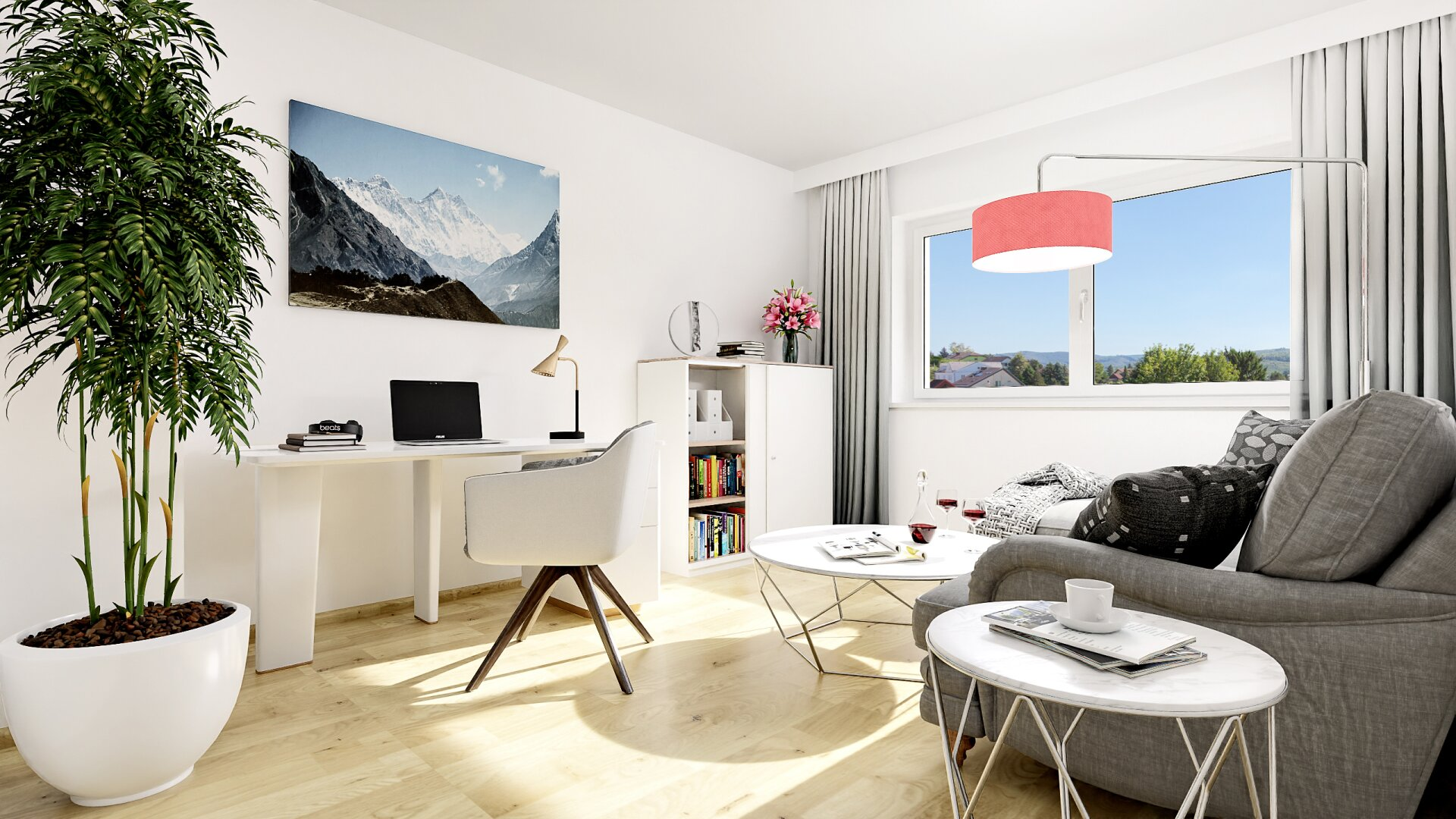 Gäste-/Arbeitszimmer