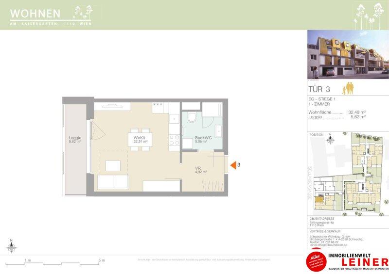 Dein neues Zuhause! Smarte und moderne 1-Zimmer Eigentumswohnung Objekt_12073 Bild_538