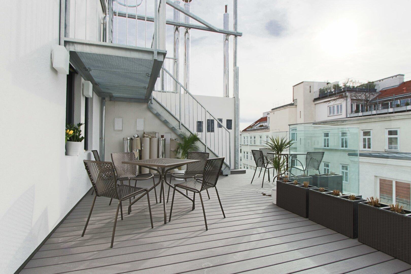 Co-Living Terrasse