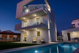 Modernes Haus mit Meeresblick Medulin