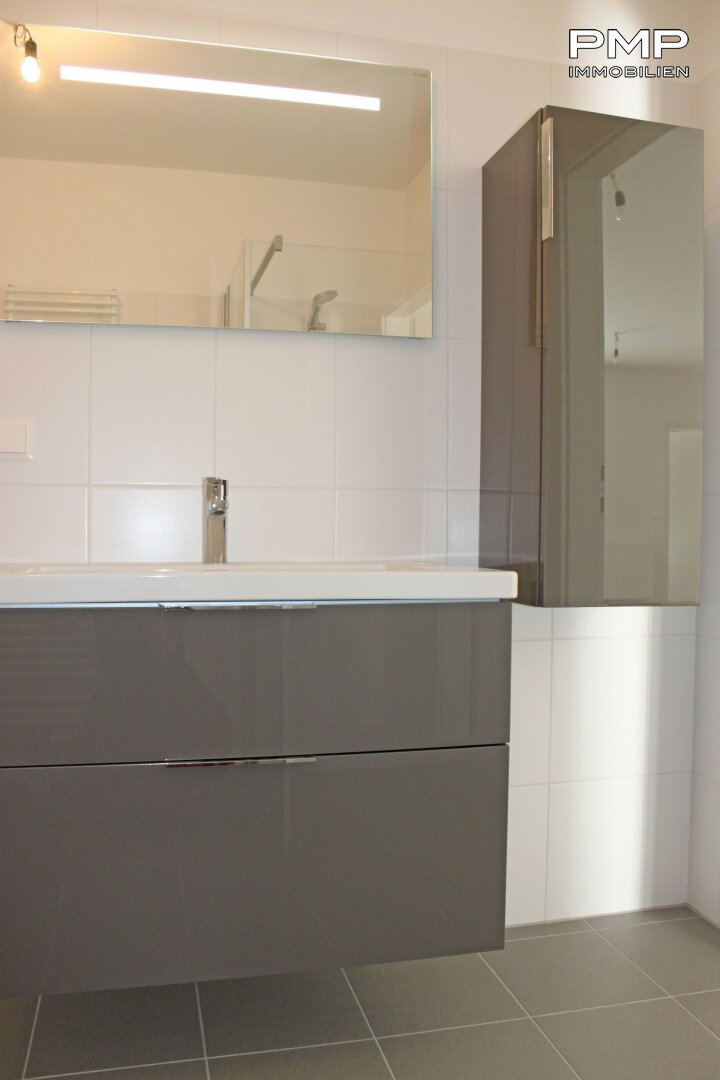 Badezimmer möbliert