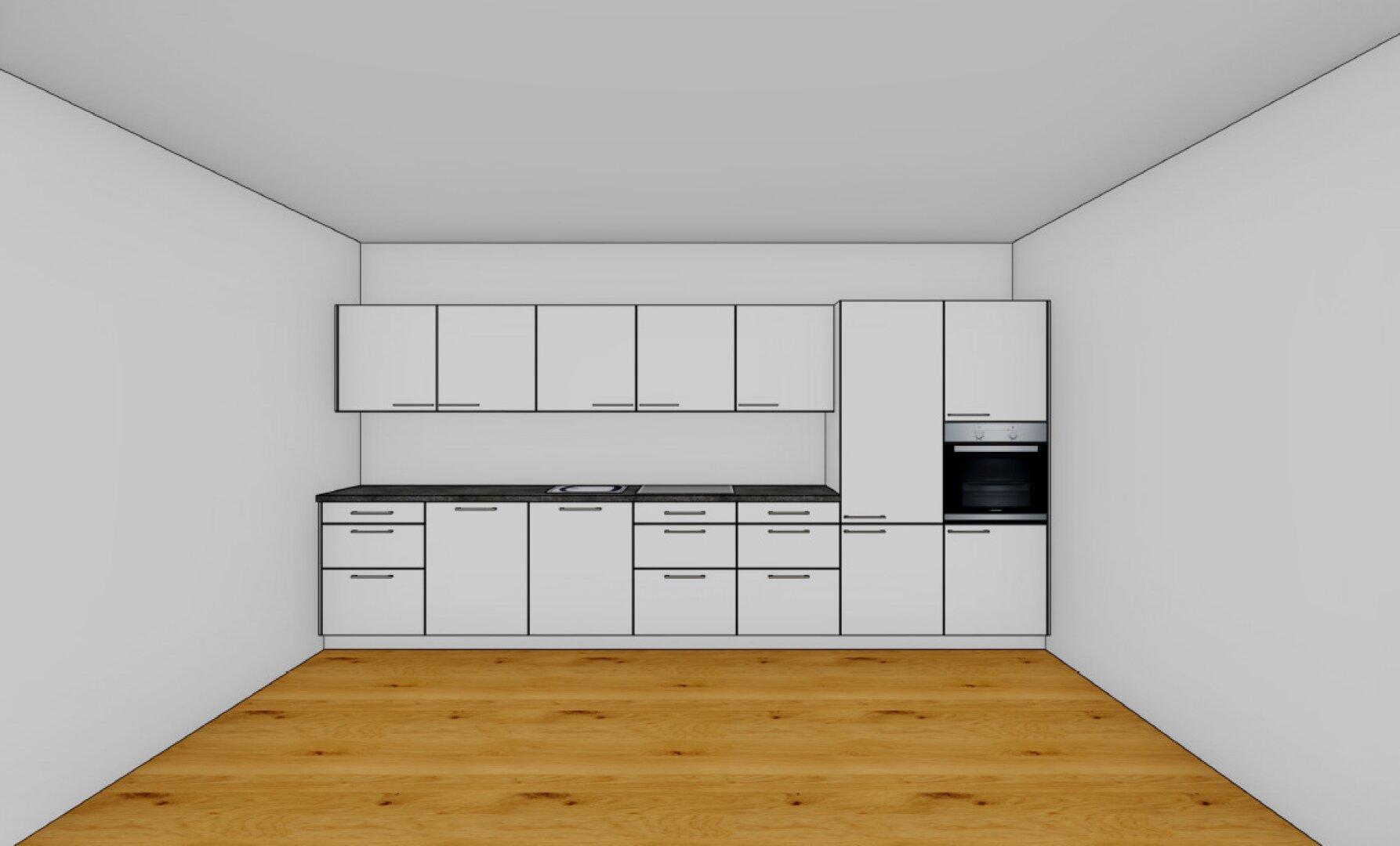 neue Küche wird geliefert