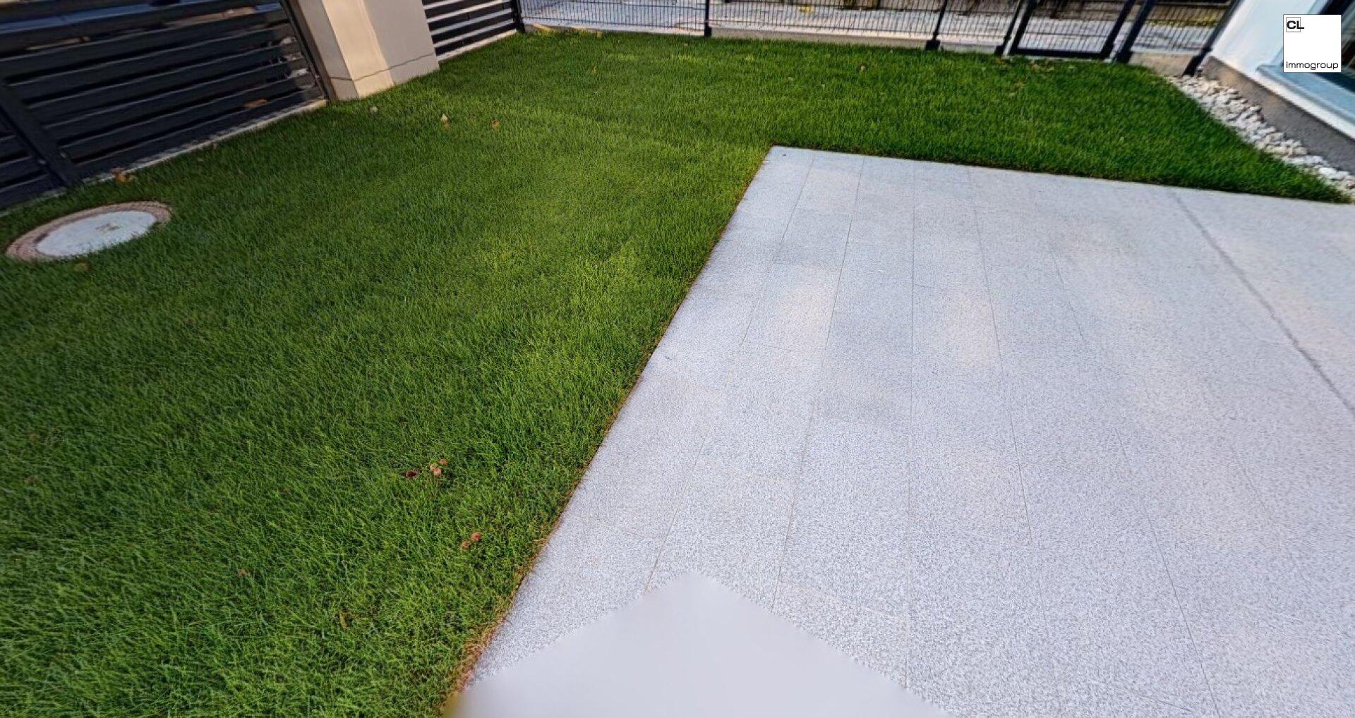 Terrasse und Garten - Demo
