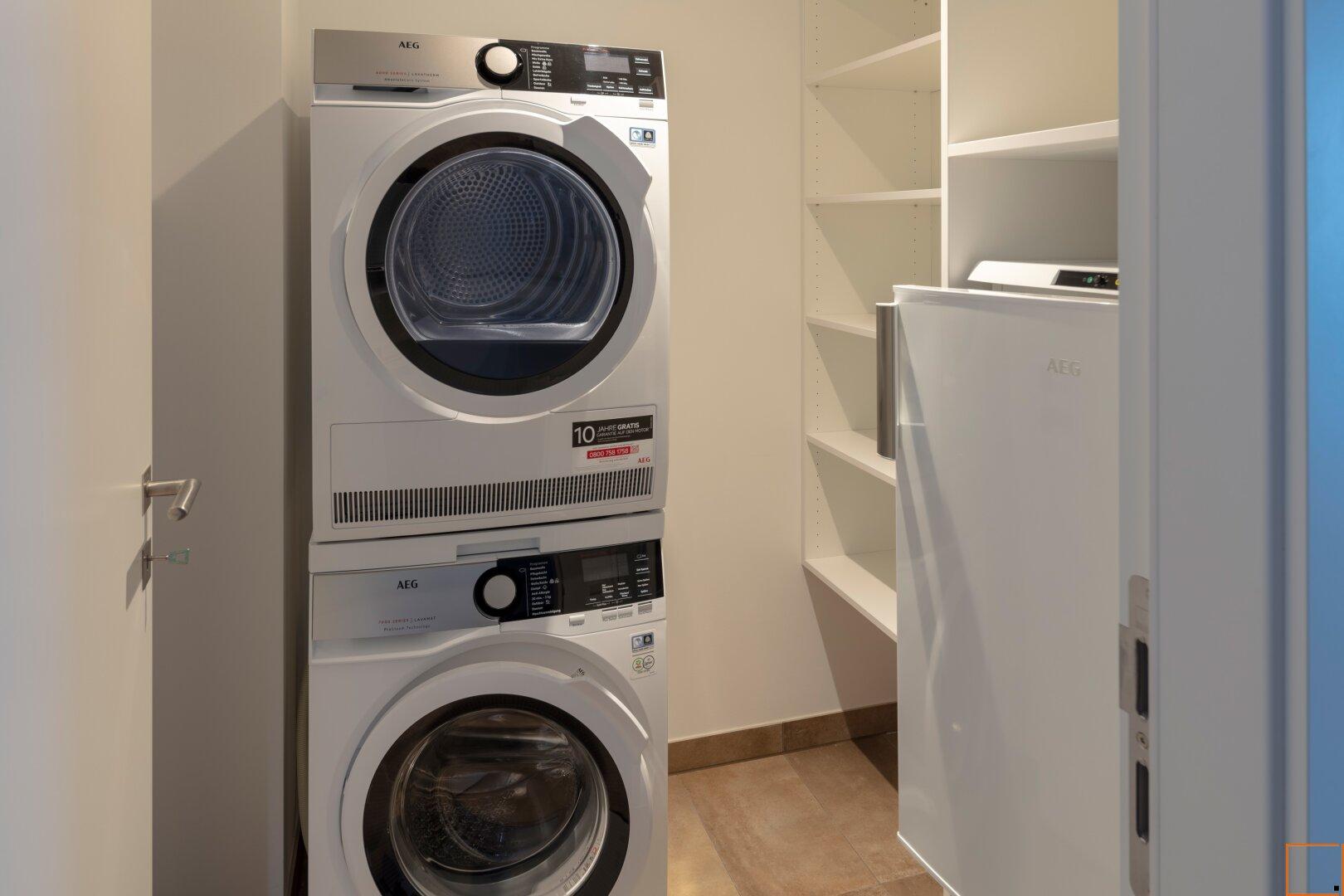 Waschmaschine & Waschtrockner