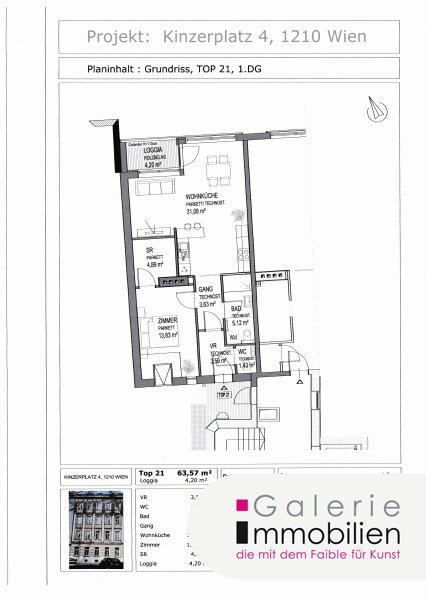 Nähe Alte Donau - Traumhafte DG-Wohnung mit Terrasse in generalsaniertem Gründerzeithaus Objekt_31829 Bild_182