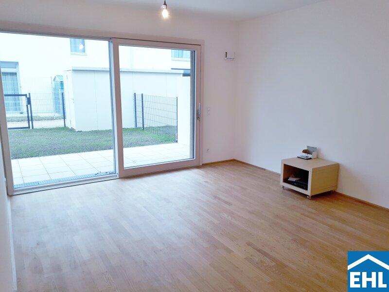 ERSTBEZUG: Optimal aufgeteilte 3 Zimmer-Gartenwohnung in Floridsdorf