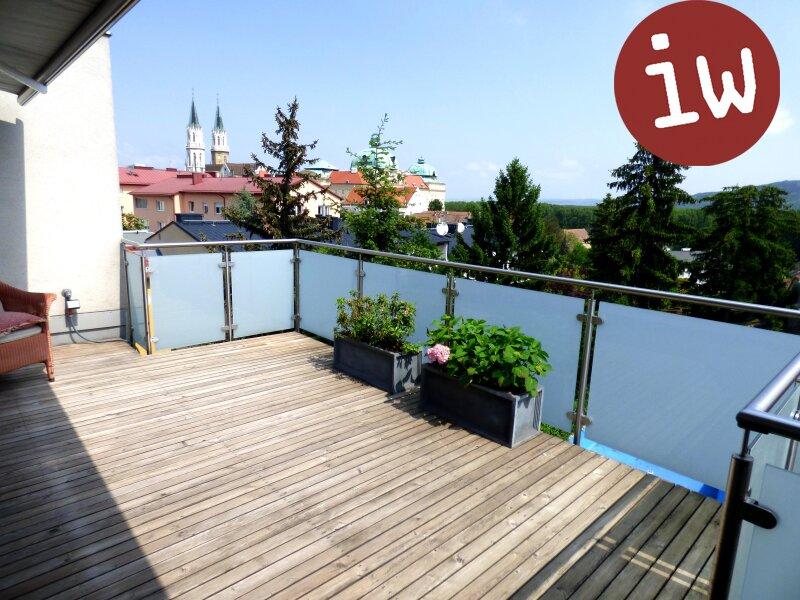 Großzügige Terrassenwohnung in Top-Zentrumslage mit Stiftsblick Objekt_340