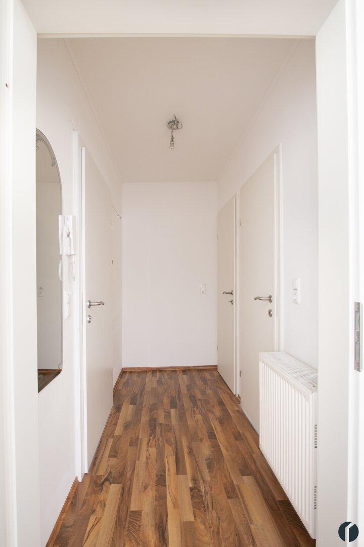 Eingangsbereich auf der oberen Wohnebene