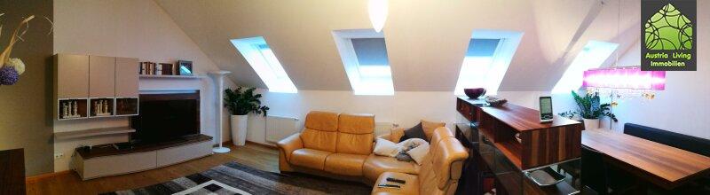 Tolle Dachgeschoßwohnung (eine Ebene) mit großer Terrasse/Rundumblick /  / 1050Wien / Bild 5
