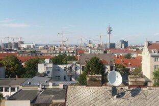 10., Top Lage: Attraktive 2 Zimmer Penthouse Wohnung mit 2 Dachterrassen: