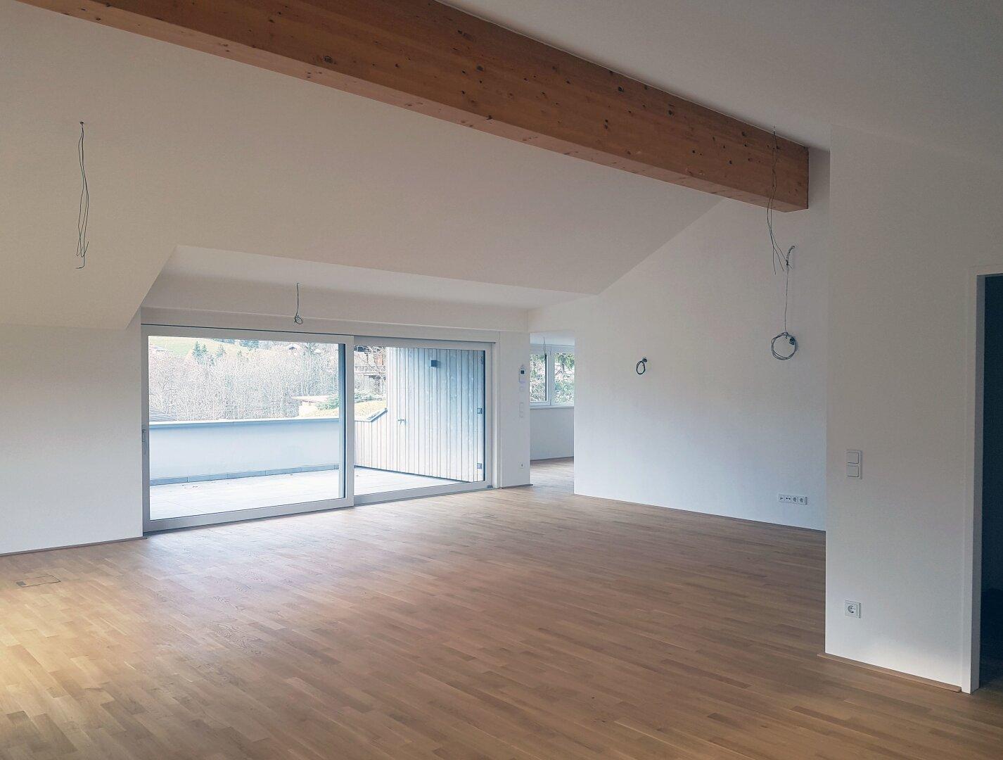 Wohnbereich, Wohnung Dachgeschoss Thiersee