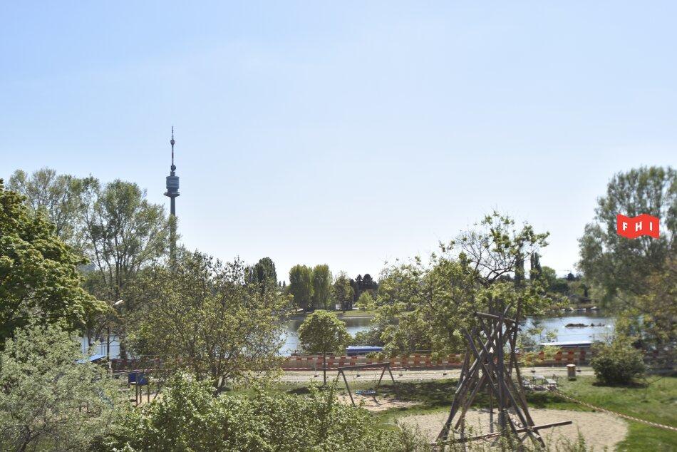 Wohnung am Park mit Blick auf die Alte Donau   Erstbezug   LIV-Projekt