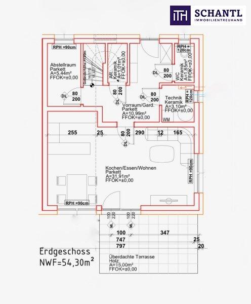 IHRE ANLAGE! Perfekt aufgeteilte Doppelhaushälfte mit wunderschönem Eigengarten! /  / 8402Graz Umgebung / Bild 4