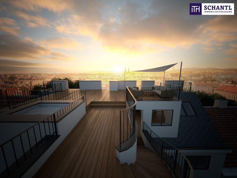 DAS IST EINZIGARTIG! Fünf-Zimmer-Erstbezug auf zwei Etagen, plus über 64m² Panorama-Dachterrasse! /  / 1170Wien / Bild 0
