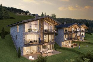 """New construction project """"Schmitten Lodges"""" in Zell am See - Exclusive luxury villa for sale directly on the ski slope"""