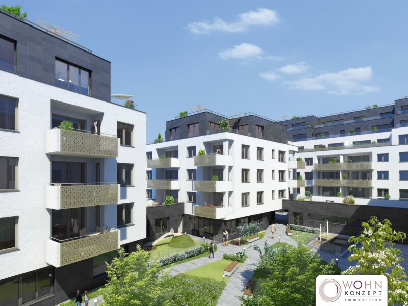 Goldegg Gardens: 90m² Erstbezug + 31m² Terrasse - 1040 Wien /  / 1040Wien / Bild 9