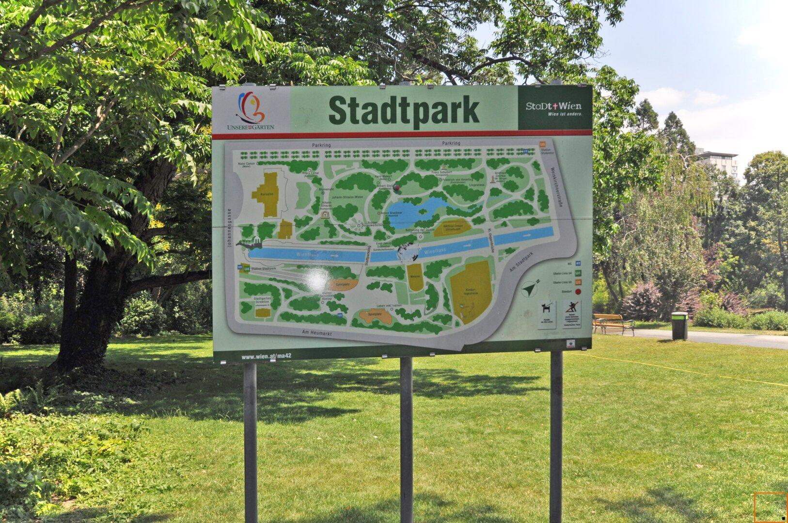 nahegelegener Stadtpark