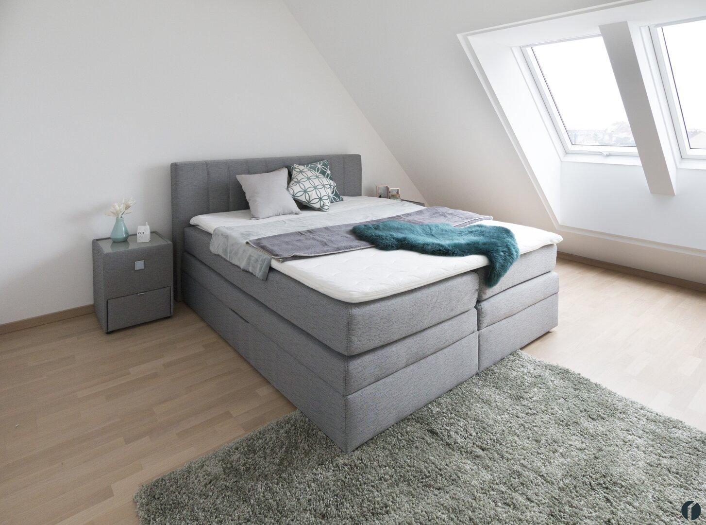 Musterwohnung Schlafzimmer