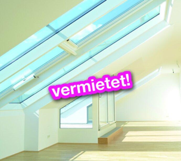 Dachgeschosstraum auf einer Ebene - Parkblick - Riesiger, lichtdurchfluteter Wohnbereich