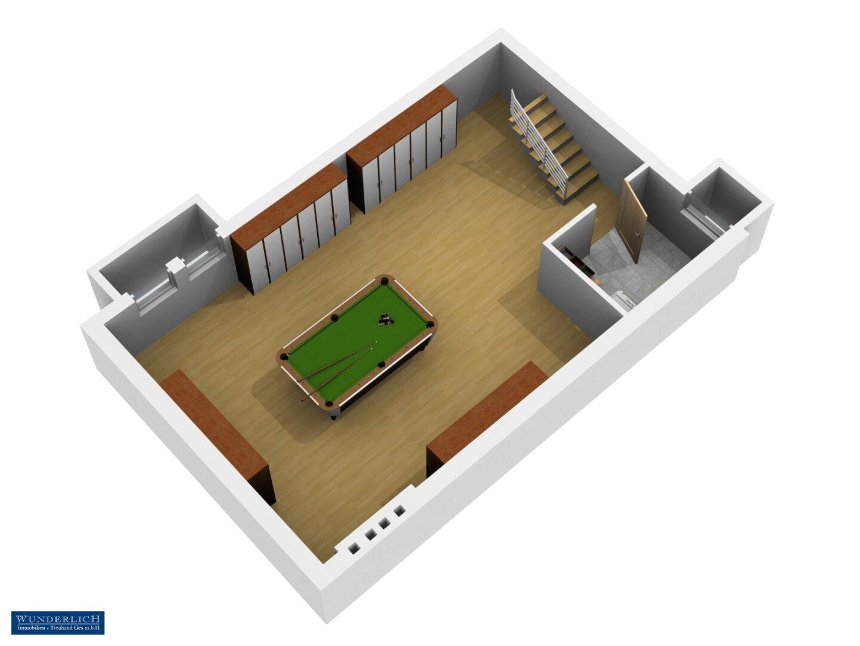 3D-Visualisierung - Kellergeschoß