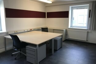 51,20m² Bürofläche zum Empfang ihrer Kunden.