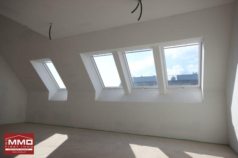 *^* Wunderschöne helle Dachgeschossmaisonette inklusive Weitblick und ruhiger Terrasse, nach eigenen Wünschen und Ideen fertigstellen *^* /  / 1140Wien / Bild 7