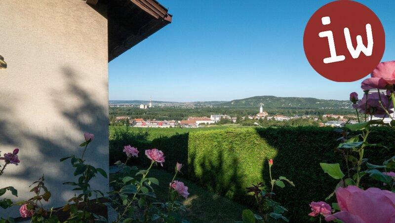 Einfamilienhaus Stadtplatznähe mit Fernsicht und Stiftsblick Objekt_642
