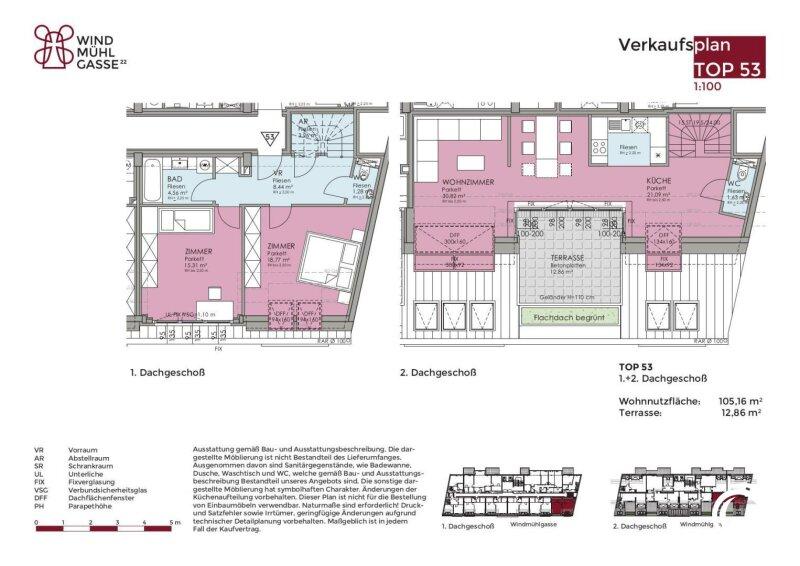 1060 // Wohntraum auf zwei Ebenen! Zwischen Mariahilferstraße und Naschmarkt! /  / 1060Wien / Bild 15