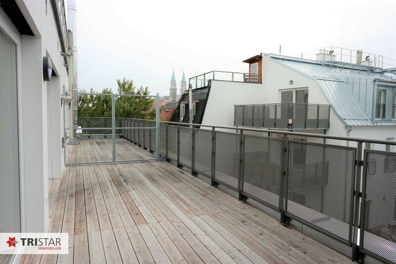 :::Erstklassige Neubaumaisonettewohnung im Baurecht mit 2 Terrassen in absoluter Grünruhelage::: /  / 3400Klosterneuburg / Bild 1