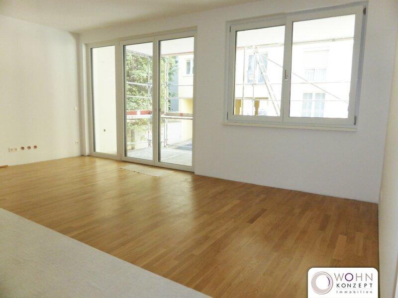 Neuwertig: Gartenseitiger 64m² Neubau + 16m² Balkon u. Topeinbauküche - 1030 Wien /  / 1030Wien / Bild 4