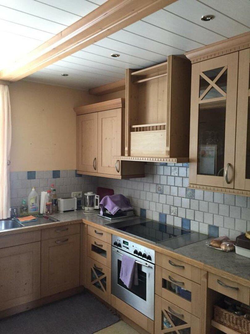 Küche im Wohnhaus