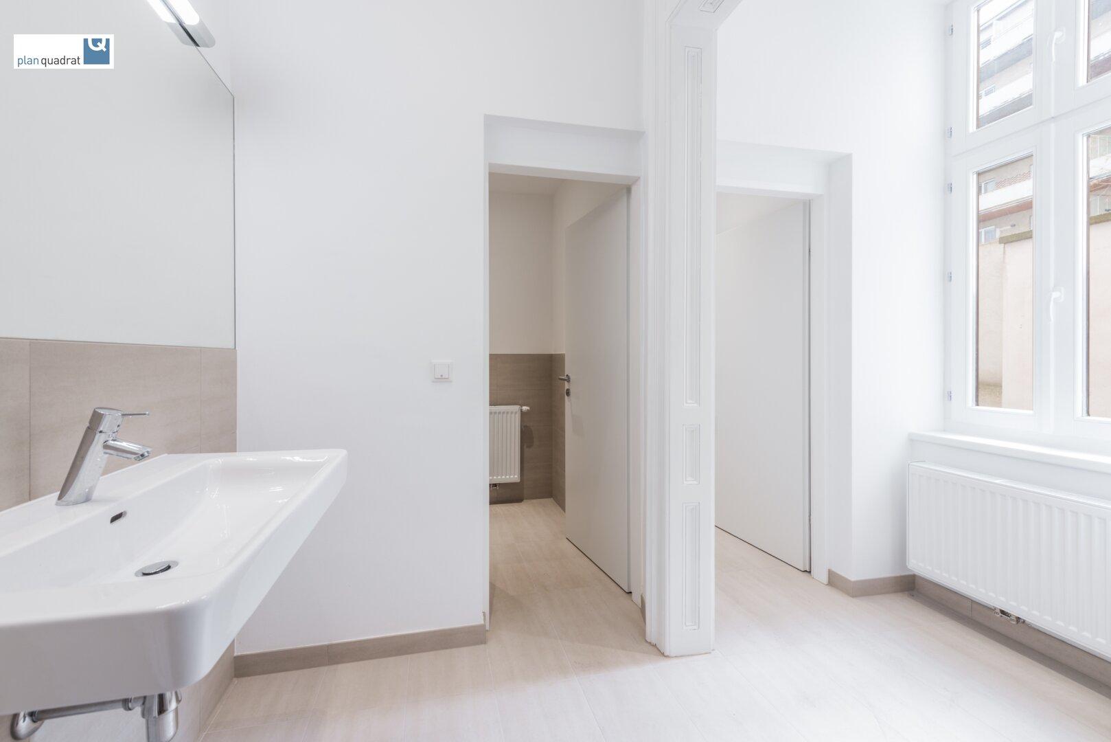 Vorraum - Sanitärräume