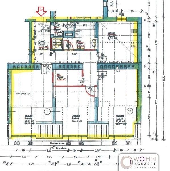 Unbefristeter 90m² Dachausbau in Parklage - WG-Tauglich! /  / 1100Wien / Bild 1