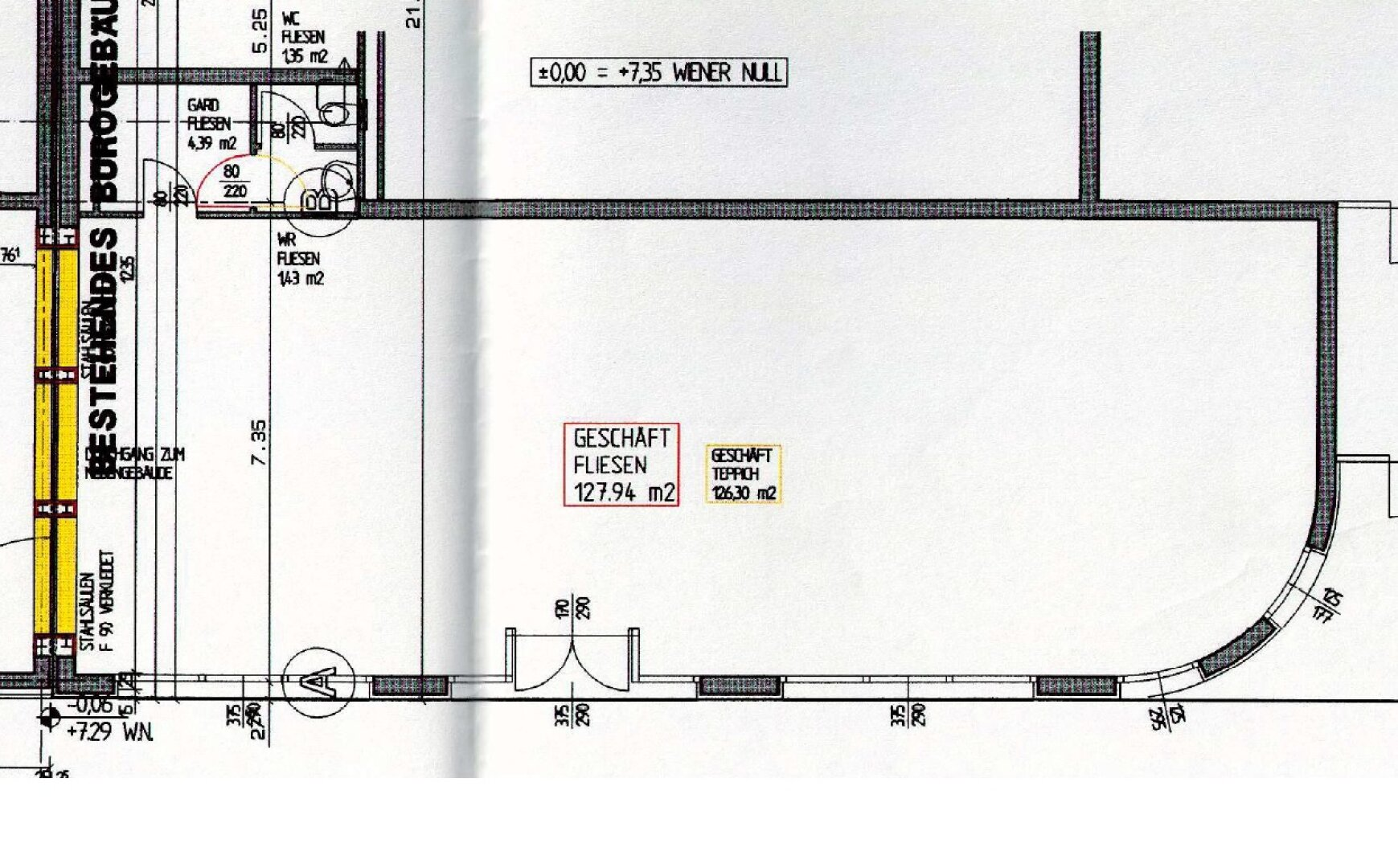 Grundriss: Brünner Straße 73