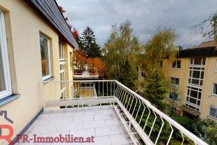 Erfolgreich vermittelt:  3Zimmermit eigener Terrasse + eigene Dachterrasse in absoluter Grünruhelage: 2er Stock ohne Lift!