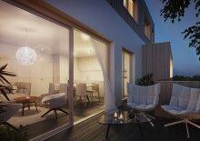 Luxus-Penthouse mit Grünblick